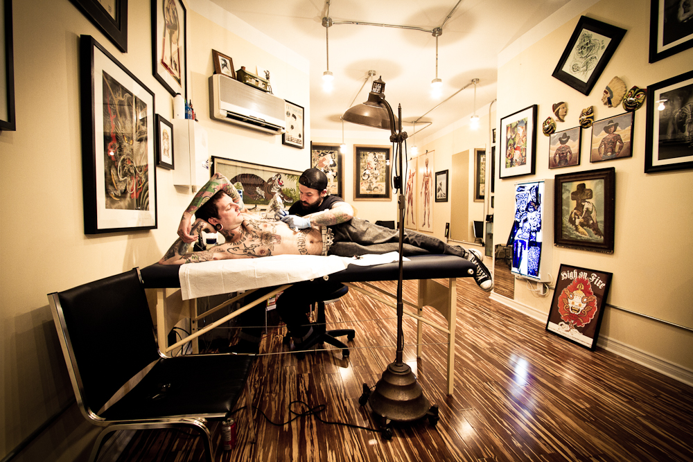 The best tattoo parlours in toronto for 201 twiggs studio salon