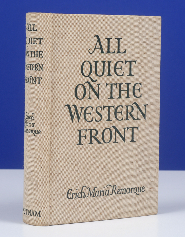 all quiet on western front essay Think about the concept of enemies in war whom do paul and his friends regard as their enemies check out the whole all quiet on the western front essay.