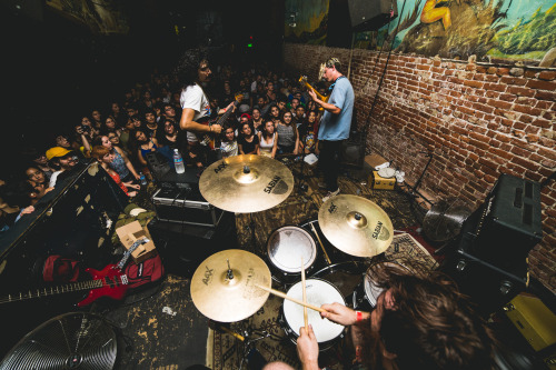 Photo of crowded show at The Smell